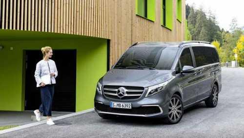 Mercedes V-Class 2022, gia xe V250 Luxury, V250 AMG 2021